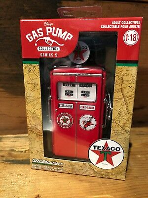 Texaco 1:18 Gas Pump DieCast