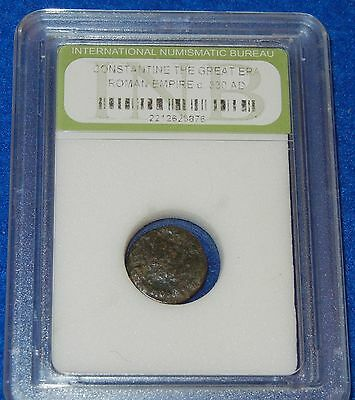 #70 Genuine Ancient Artifact ~ Constantine The Great Era Bronze Coin 2212625876