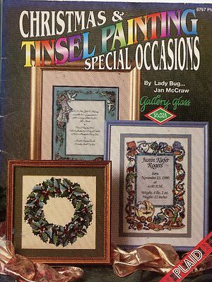 Folk Art Book - Christmas & Tinsel Painting - Special Occasions