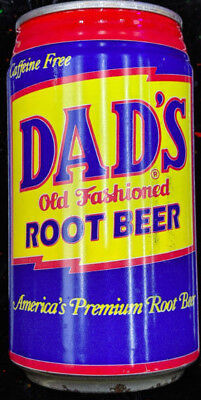 """DAD'S OLD FASHIONED ROOT BEER"" Unopened 12oz CAN of SODA ~ Fast Ohio Shipping ~"