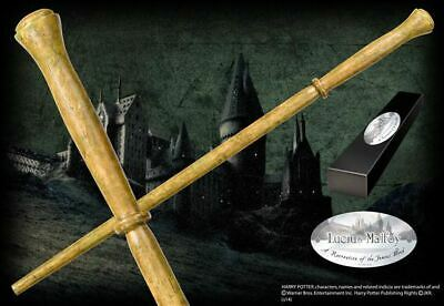 Harry Potter : LUCIUS MALFOY CHARACTER WAND from The Noble Collection NOB8208