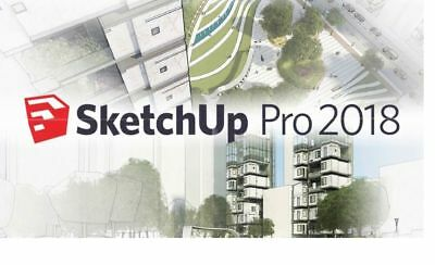 SketchUp Pro 2018 Full Version | Style Builder 2018 |LayOut 2018  [DOWNLOAD]
