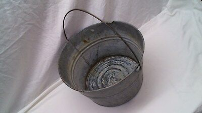 """14"""" Galvanized Wash Tub to Display or Plant/Flower Pot!"""