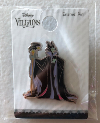 Disney Maleficent Pin Loungefly Box Lunch Enamel Villains Limited Diablo Crow