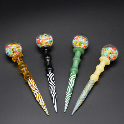 Colorful Glass Dabber Tools Carb Cap Wax For Glass Bongs Smoking Accessories
