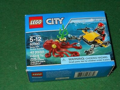 Lego City Deep Sea Scuba Scooter 60090 Sealed NEW 42 Pieces