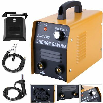 NEW 160 AMP ARC Welding Machine Welder 230V W/ Free Face Mask Accessory Kit MY