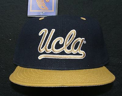 1990s UCLA BRUINS VINTAGE NEW ERA 100% WOOL 5950 PRO MODEL USA FITTED CAP