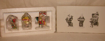 Dept 56 Heritage Village Baker Elves Set 3 5603-0 Accessory MIB