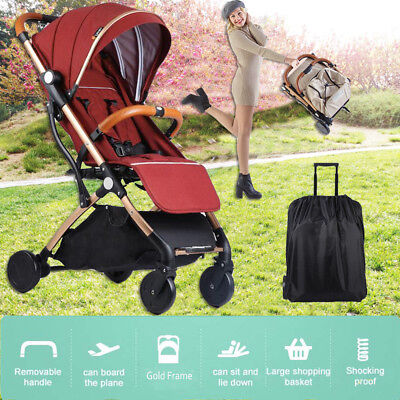 Lightweight Compact Fold Baby Stroller Pram Travel Pushchair Carry on Plane