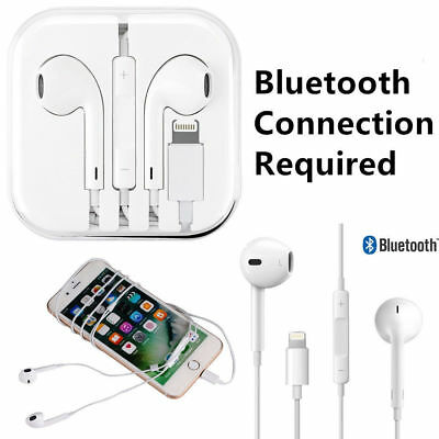 Wired Bluetooth Earbuds Headphones Headsets In-ear for Apple iPhone 6 7 8 X