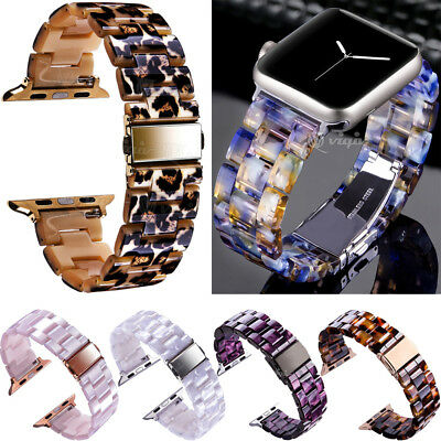 For Apple Watch Series 1 2 3 38mm 42mm Polishing Resin Bracelet Wrist Band Strap