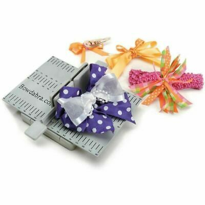 Bowdabra Hair Bow maker tool complete kit with CD and bow wire included