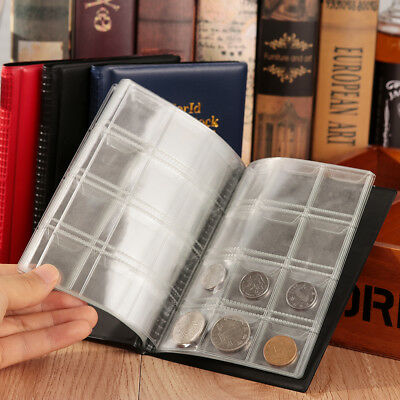 Storage Collect Pocket  Coin Collection Book Album Holder Commemorative coins