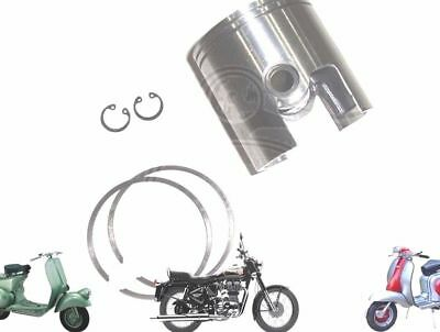 LAMBRETTA GP LI SX TV 200CC PISTON KIT 66.60 mm WITH 2 X 1.5 RINGS @AU