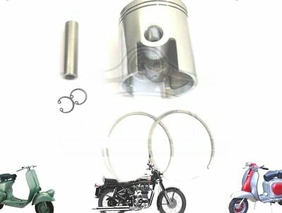LAMBRETTA 185 CC PERFORMANCE PISTON KIT 64.20 mm & THIN 1.50 mm RINGS  @AU