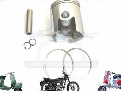 LAMBRETTA 185 CC PERFORMANCE PISTON KIT 65.20 mm & THIN 1.50 mm RINGS @AU