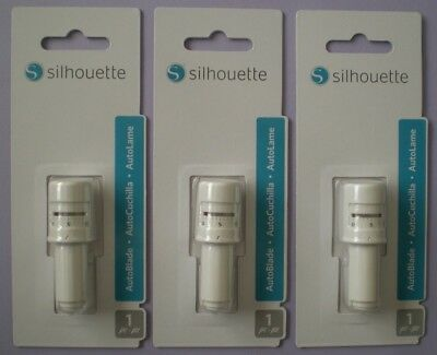 Silhouette Replacement Autoblade for Cameo 3 Cutters/Portrait 2 ~ x3 Genuine NEW
