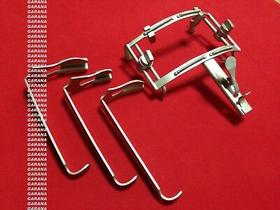 Dingman Mouth Retractor Complete Set Garana Surgical Dental Instruments