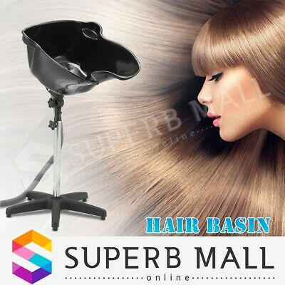 Portable Hair Basin Salon Hairdressing Shampoo Bowl Mobile Hair Washing Sink