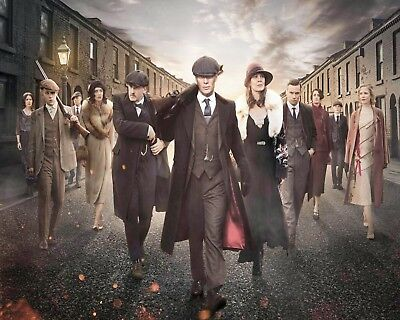 THOMAS SHELBY PEAKY BLINDERS CILLIAN MURPHY METAL PICTURE SIGN TIN PLAQUE 282