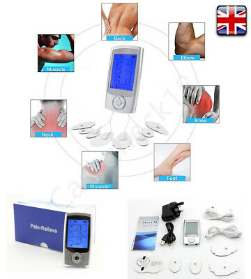Electric TENS Body Massager Muscle Stimulator Pain Relief Electronic Pulse cckk
