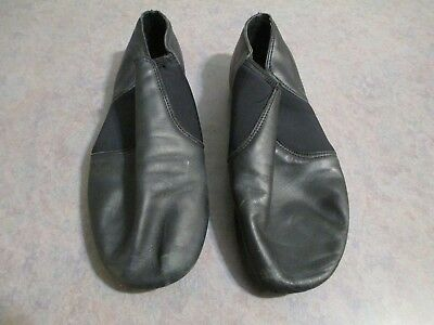 Adult Balera brand slip-on black jazz shoes-Very Good-Free Shipping