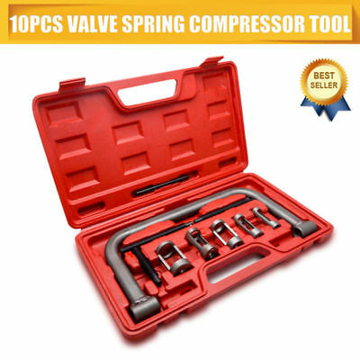 High Quality 10Pc Valve Spring Compressor Tool Kit For Car Motorcycle
