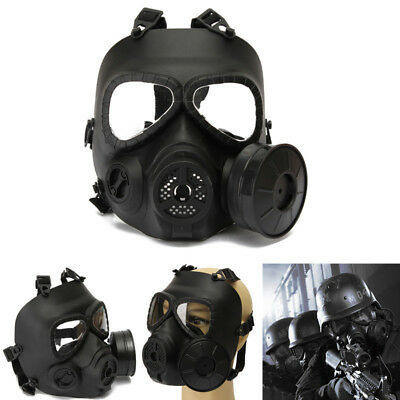 Paintball Tactical Airsoft Game Safety Mask Face Protection Guard Toxic Gas Mask