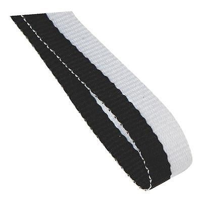50 x Black And White Medal Ribbons Lanyards with Gold clips bulk buy 22mm wide