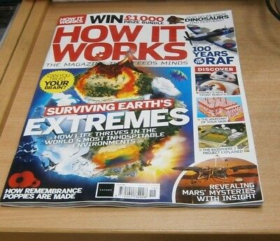 How It Works magazine #118 2018 Surviving Earth's Extremes, Biosphere 2 Project
