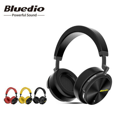 Bluedio T5 Bluetooth 4.2 Headphone Active Nosing Cancelling Mic Bass Headsets