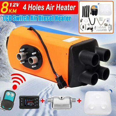 12V 8kw Diesel Air Parking Heater Air Heating LCD Switch with Silence & Silencer