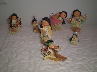 Friends Of A Feather Figurines Set Of 7 Enesco