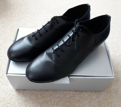 Dsol Black Synthetic Mens Latin Dance Shoes New Size 9