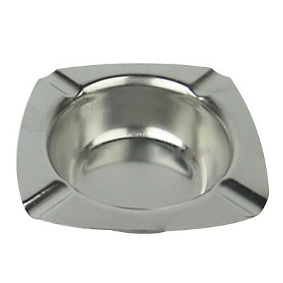 1X(Stainless Steel Ashtray 124mm. D4D2)