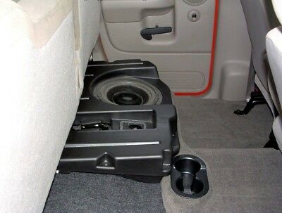 Q-Logic Custom Dodge RAM QUAD CAB Sub Box for Passenger or Driver Side Enclosure