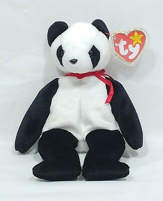 1998 TY Beanie Baby Fortune Bear - NEW with Tag