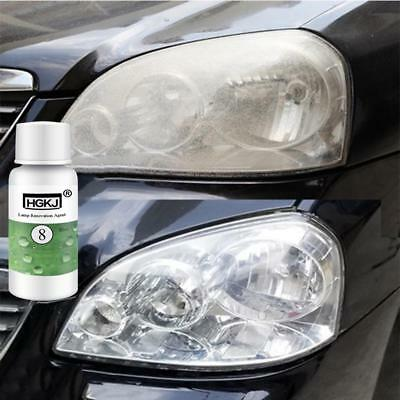 HGKJ-8 Car Auto Headlight Lens Restorer Repair Liquid Polish Cleaner cleaning