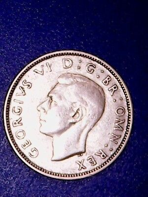 1943 Great Britain Florin - F