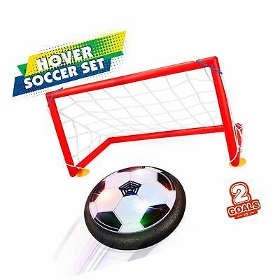 Betheaces Kids Toys Hover Soccer Ball Set 2 Goals Gift Foot... NEW FREE SHIPPING