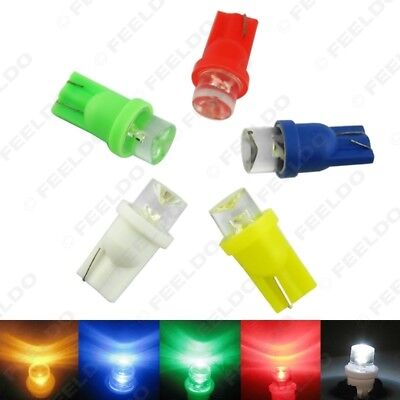 4x T10 158 194 168 W5W Car LED Light Bulbs Lamp White/Blue/Red/Amber/Green