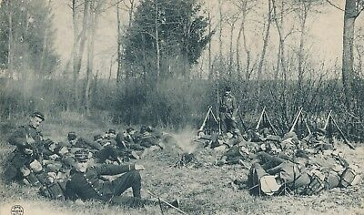 CPA - France - (10) Aube - Au Camp de Mailly - Manoeuvres d'Infanterie