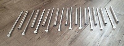 "Gutter Nails & Ferrules 7"" Aluminum for [5""] K Gutter  Made in USA  [Qty. of 10]"