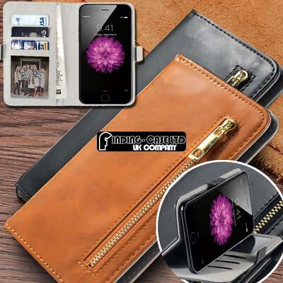 Universal Flip Cover Stand Card Wallet Leather Case For Various Model SmartPhone
