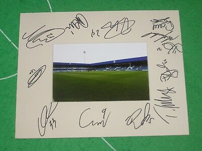 Queens Park Rangers QPR FC Mount Multi-Signed x 12 2018/19 First Team Squad