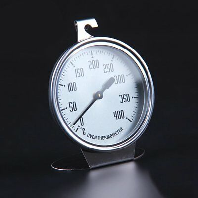 Stainless Steel Oven Thermometer Kitchen Thermometer Bakeware Baking Utensil LO