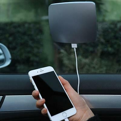 (USA) Universal Car 2600mAh USB Solar Window Stick Charger Power Bank Battery