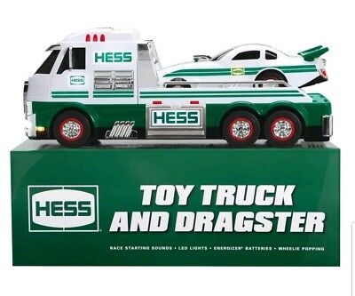 HESS Truck+Dragster 2016 New in sealed box