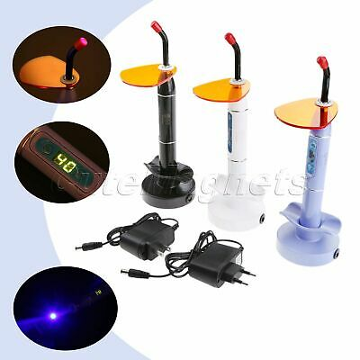 Wireless Cordless LED Dental Curing Light Lamp 1200-2000mw/cm² Dentist Tool